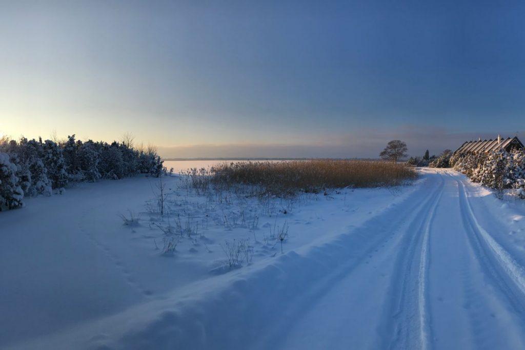 Orjaku küla talv