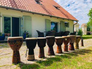 Djembe Dagen Haus suvel 2019