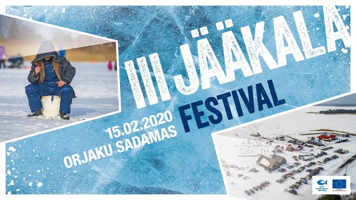 Jääkala festival Orjaku sadamas