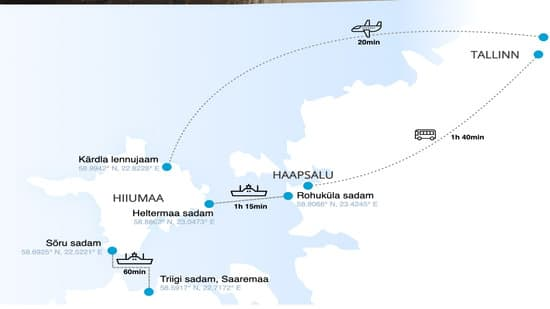 Transpordivõimalused Hiiumaale